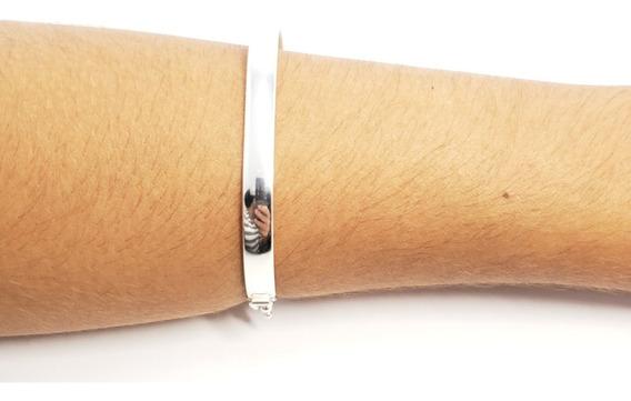 Bracelete Grosso Prata 925 Pulseira Feminina Elegante Barato