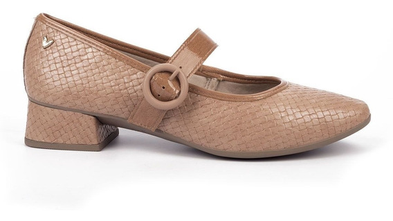 Sapato Feminino Bico Redondo Estilo Boneca Mississipi