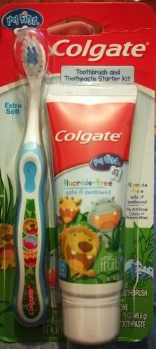 Colgate Baby. Cepillo Y Crema Dental
