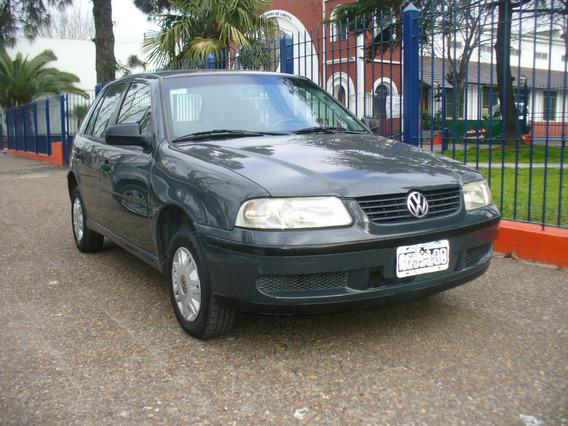 Volkswagen Gol 5 Puertas Aa Dh Titular Muy Bueno Gris