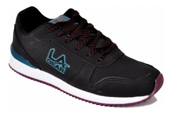 Zapatillas Mujer L.a Gear Collins Pu (law-05320)