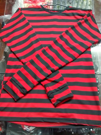 Kit Fantasia Freddy Krueger Adulto Halloween