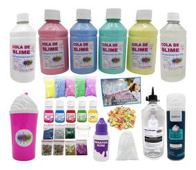 Slime Transparente - Kit Grande Slime Kids Faça Slime