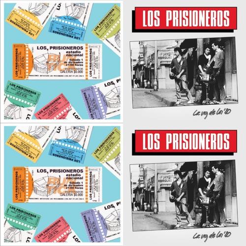 Pack Los Prisioneros La Voz De Los 80 Estadio Nacional 3-cd
