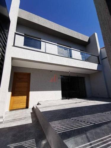 Imagem 1 de 30 de Sobrado Com 3 Dormitórios À Venda, 130 M² Por R$ 850.000,00 - Vila Carrão - São Paulo/sp - So2588