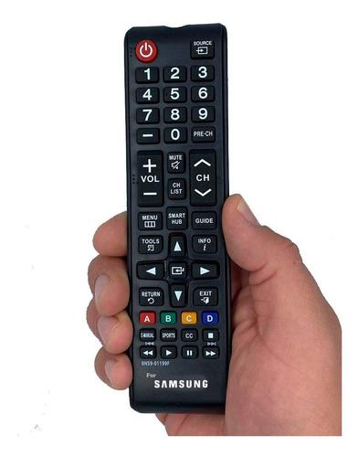 Imagen 1 de 1 de Control Remoto Samsung Smar Tv Lcd Led Version Chico + Pilas