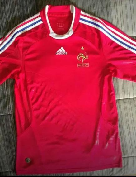 Camiseta adidas Selección De Francia 2008. Talle M