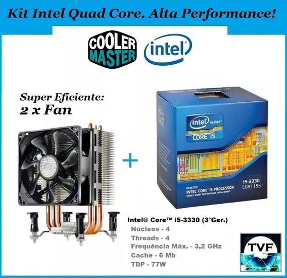 Kit Gamer Top Intel I5 3330 4c/4t + Cooler Master Tx3