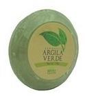 2 Sabonetes Redondos De Argila Verde - 110g - Dermaclean