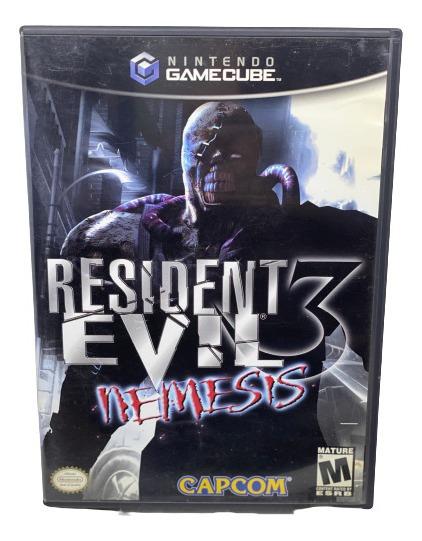 Jogo Resident Evil 3 - Gamecube