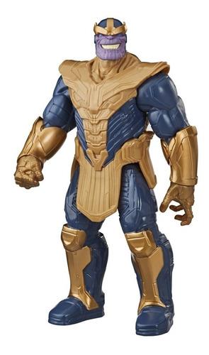 Imagem 1 de 2 de Boneco Marvel Avengers Titan Hero Blast Gear Thanos 30 Cm