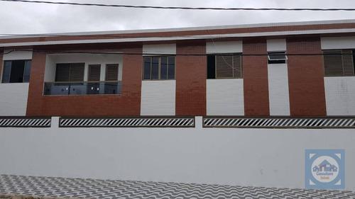 Imagem 1 de 16 de Casa Com 3 Dormitórios À Venda, 73 M² Por R$ 290.000,00 - Vila Mateo Bei - São Vicente/sp - Ca0944