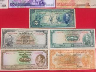 Billete De 500 Canario Único Del 1952 Y Mas