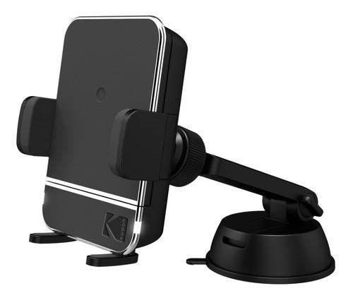 Soporte Holder Celular Carro Con Cargador Inalámbrico Kodak