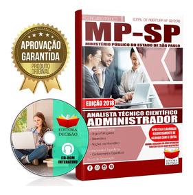 Apostila Analista Tecnico Administrador 2018 Mp Sp Completa