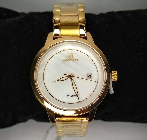 Relógio Feminino Naviforce Importado Classe Original +brinde