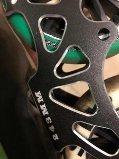 Trilho Chaci Suporte Rodinhas Patins 3x110mm C Rodas Usadas