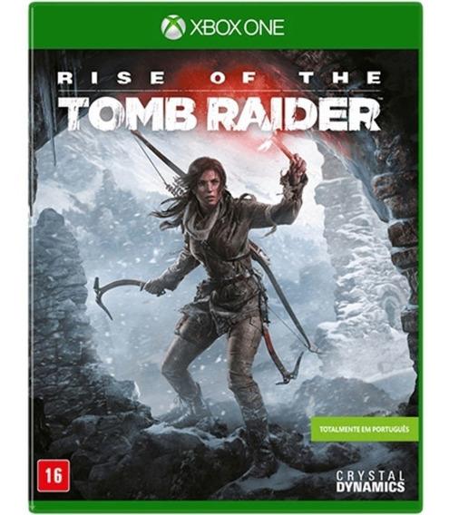 Game Rise Of The Tomb Raider Xbox One Midia Fisica Português