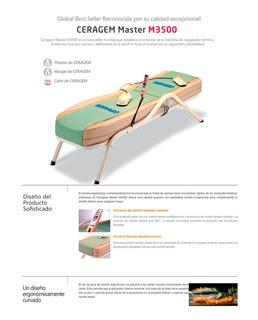 Vendo Camilla Ceragem Master Modelo Cgm-m3500
