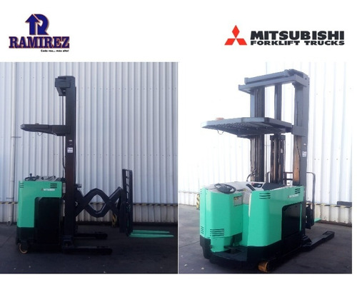 Autoelevador Montacarga Usado Mitsubishi 1500kg Doble Reach