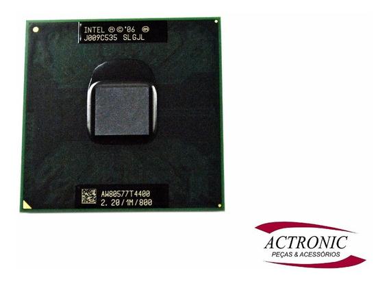 Intel Dual Core T4400 2,2 / 1m / 800 Processador Notebook