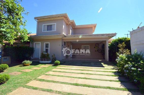 Casa Com 4 Dormitórios À Venda, 254 M² Por R$ 890.000,00 - Condomínio Okinawa - Paulínia/sp - Ca0163