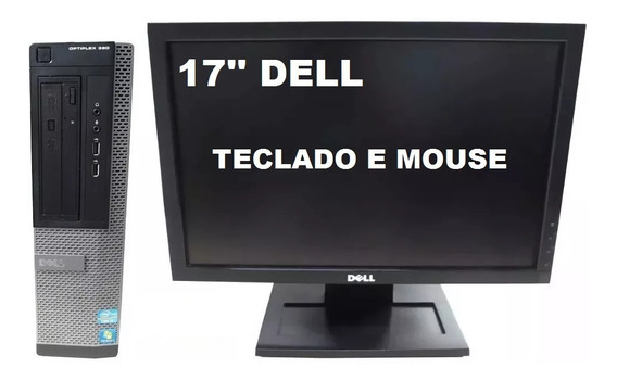 Computador Dell Optiplex 390 Intel I3 8gb 240ssd - Semi Novo