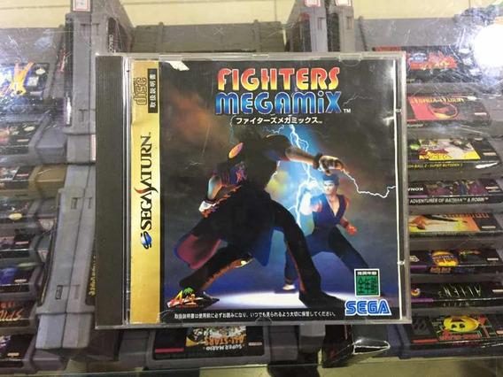 Fighters Megamix Sega Saturn Americano - Games no Mercado