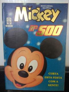 Hq Mickey Nº 500 - Edição Especial - Disney Abril 1991 Rjhm