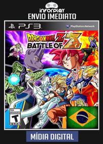 Dragon Ball Z Batlle Of Z Pt-br Ps3 Psn Envio Imediato