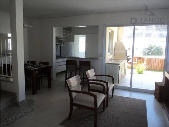 Casa Com 3 Dormitórios À Venda, 138 M² Por R$ 891.500,00 - Parque Rural Fazenda Santa Cândida - Campinas/sp - Ca8657