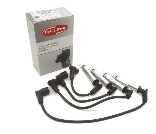 Juego Cables De Bujias Chevrolet Corsa 2 Meriva 8v Delphi