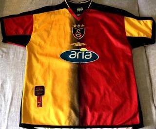 Camisa Galatasaray 2003/04 Hakan Sukur #10 Rara