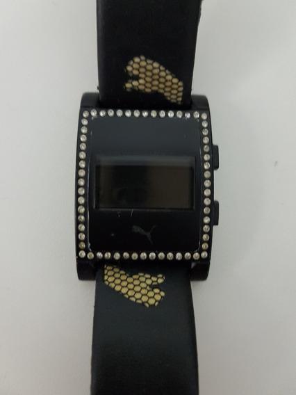 Relógio Puma Original Feminino Com Pedras Swarovski