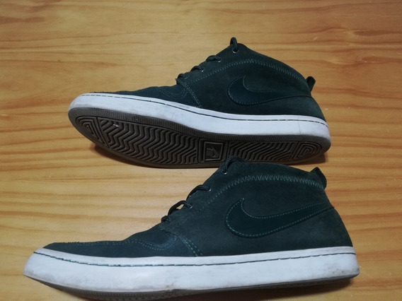 Zapatillas Nike Sb Botitas Color Verde