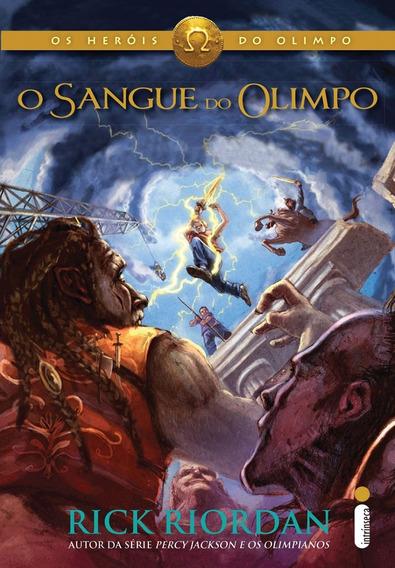 Livro O Sangue Do Olimpo Série Heróis Do Olimpo Novo Lacrado