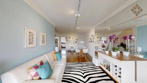 Apartamento Com 4 Dormitórios À Venda, 270 M² Por R$ 1.800.000 - Santo Amaro - São Paulo/sp - Ap46704