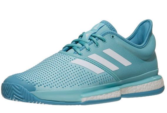 Para Tennis Frontenis adidas Solecourt Boost Parley Azul