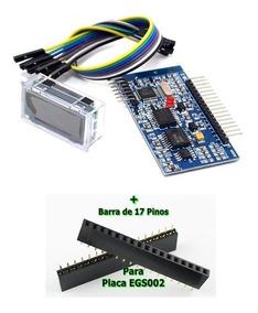 Egs002 Módulo Onda Senoidal + Display Lcd + Barra 17 Pinos