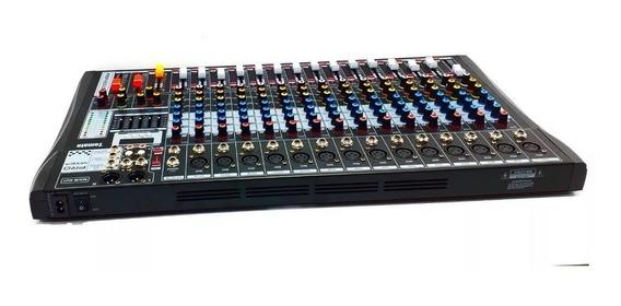 Mesa De Som Bluetooth Usb Mixer Mp3 Digital 16canais Full