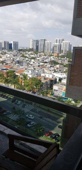 Flat Com 1 Dormitório À Venda, 52 M² Por R$ 350.000 - Alphaville Industrial - Barueri/sp - Fl0012