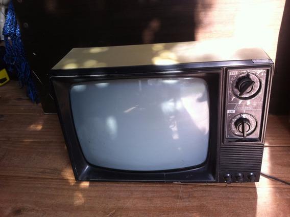 Tv Televisão Broksonic Uhf Antiga Bivolt Frete Gratis