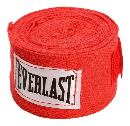 Par De Vendas Everlast Para Box 120 Pulgadas 3,05 Mts Con Abrojo Y Enganche Dedo Pulgar Baires Deportes En Oeste G B A