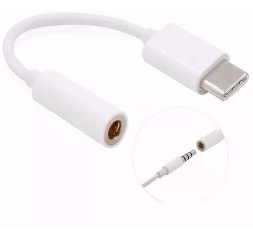 Adaptador Usb Tipo C A Auxiliar 3.5mm Cable Convertidor Jack
