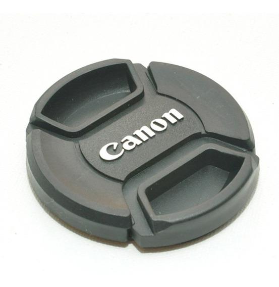 Tampa Objetiva Canon 58ø 58mm Lens Cap