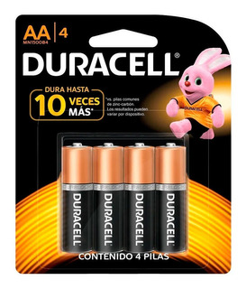 Pilas Duracell Aa Blister X 4 Unidades