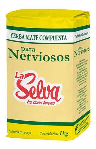 Yerba La Selva Para Nerviosos 1 Kg