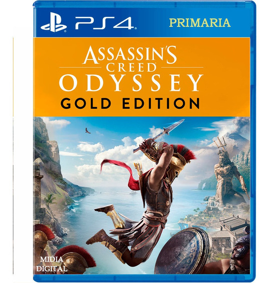Assassins Creed Digital1 Odyssey Gold Edition Ps4