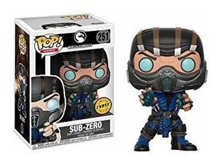 Funko Pop Chase * Mortal Kombat Sub Zero N 251