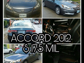 Honda Accord 3.5 Ex Coupe V6 Piel Abs Qc Cd At 2012